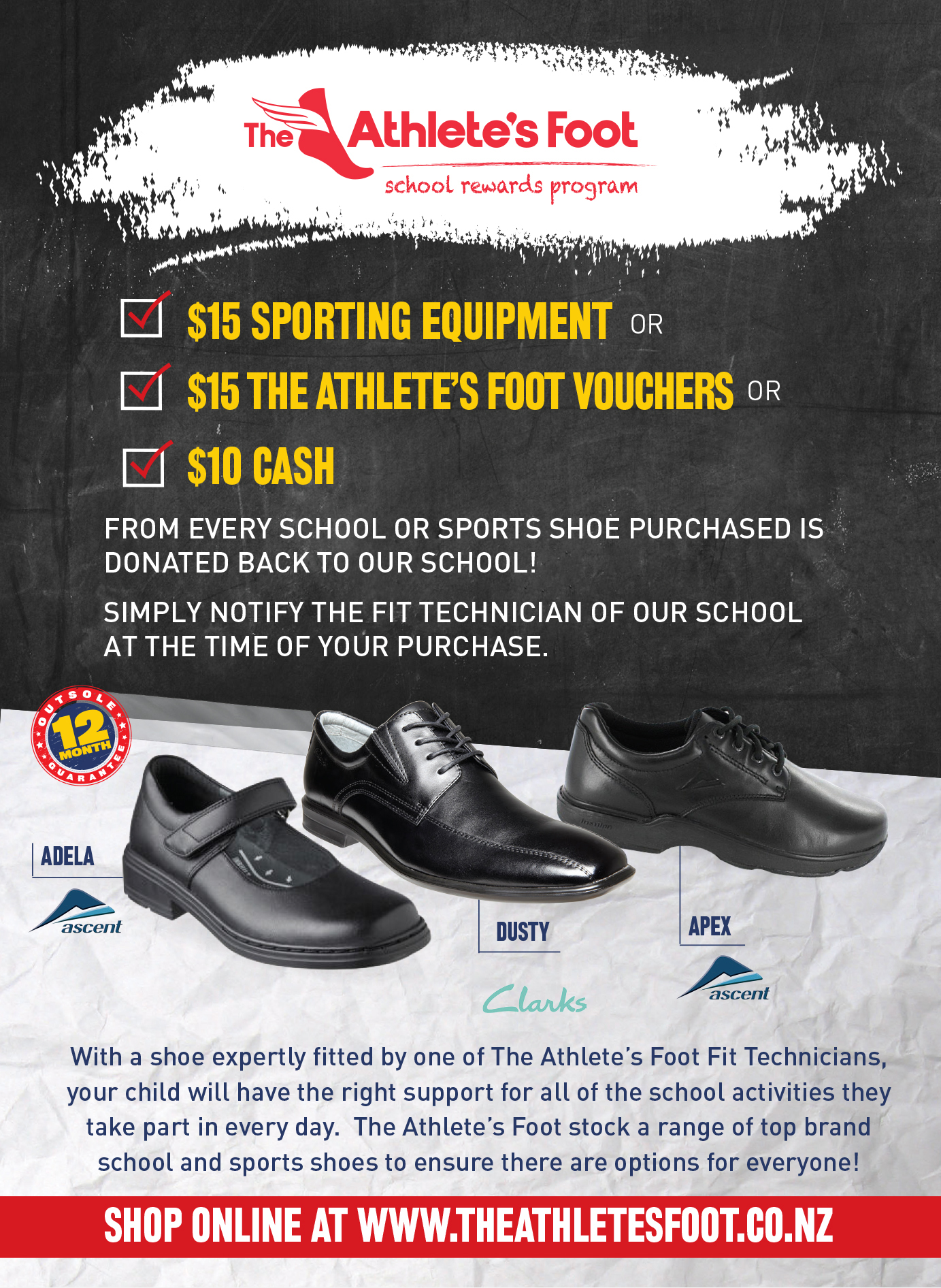 Foot – Back to School Promotion